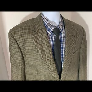 Burberry London Brown  Shark Skin sport coat 42R